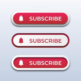 Кнопки подписки