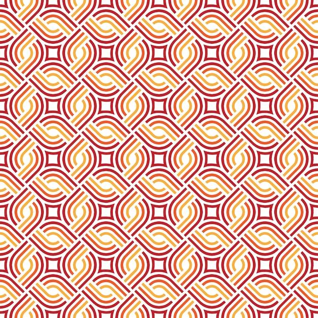 抽象的なシームレスな幾何学模様
