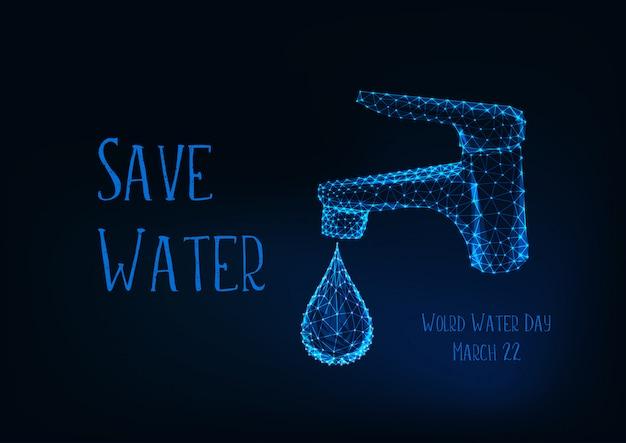 Плакат всемирного дня воды