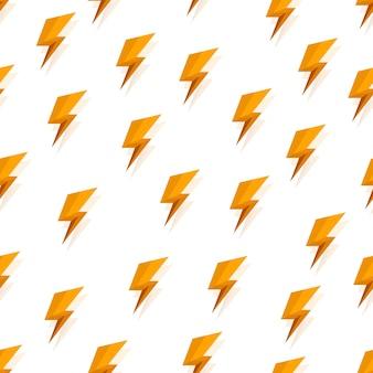 雷のパターンの背景