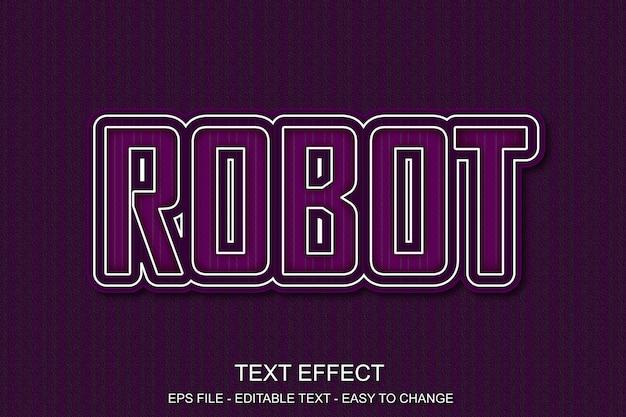Редактируемый текстовый эффект в стиле поп-арт