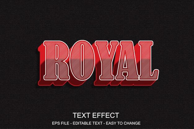 Редактируемый текстовый эффект красного стиля поп-арт