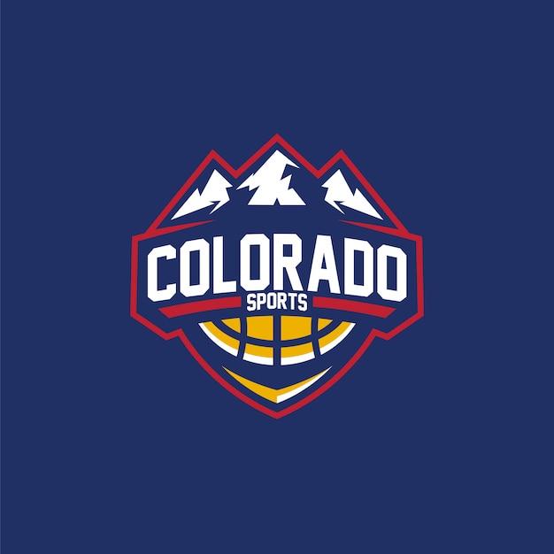 ロゴバスケットボールコロラドスポーツ