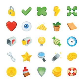 Пакет игровых иконок