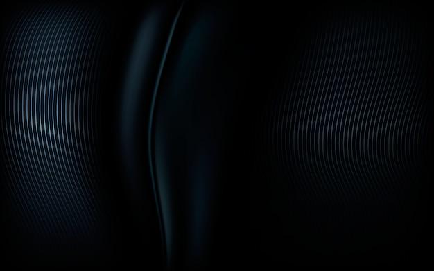 Абстрактный современный черный фон блестящий элемент