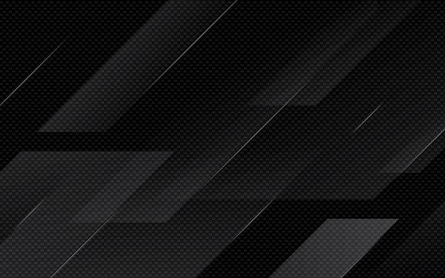 黒い抽象幾何学的背景