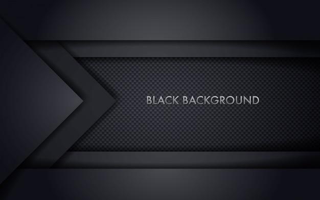 Абстрактный черный фон рамки