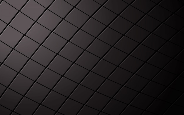 抽象的な正方形の黒い背景。