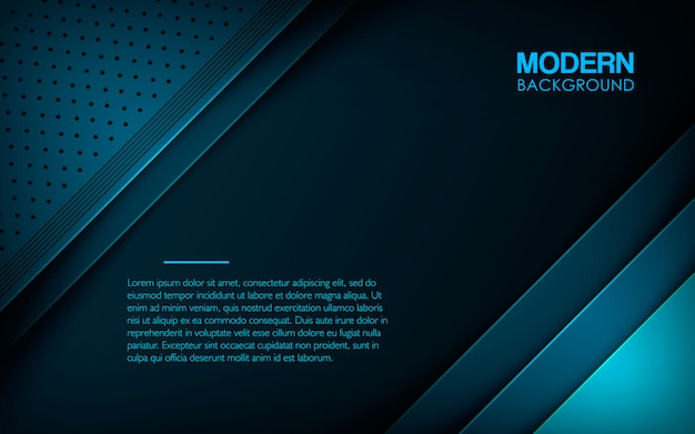 モダンなブルーのテクスチャード加工のレイヤーオーバーラップの背景
