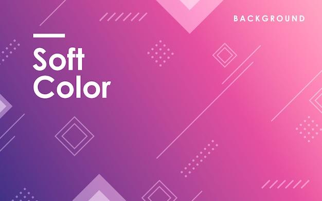 紫色のグラデーションの幾何学的な背景