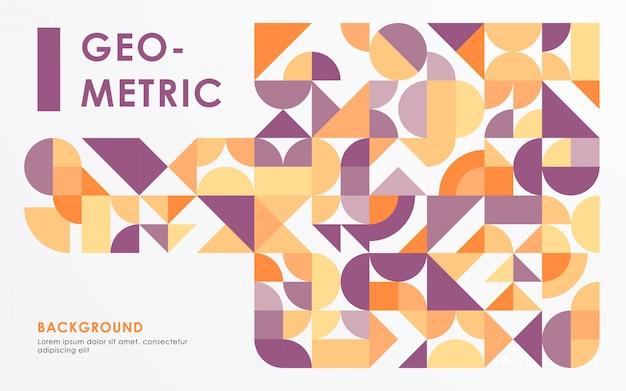 Абстрактный ретро фон геометрическую форму