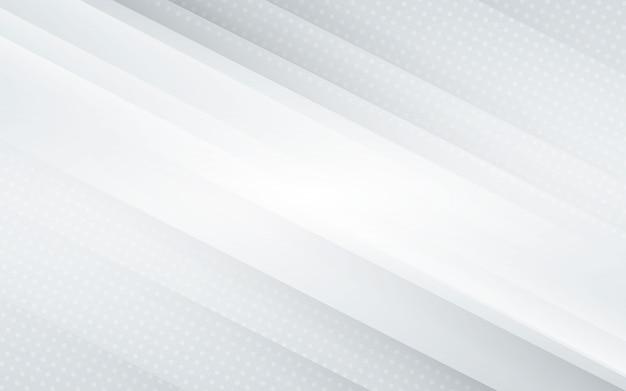 ハーフトーンと白い背景