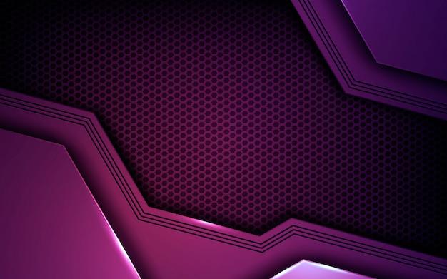 紫の抽象的な次元の背景