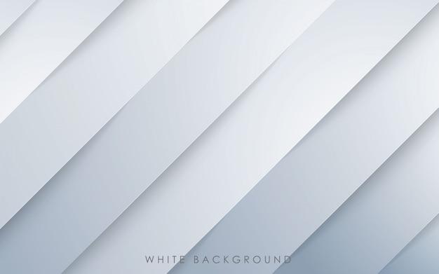 モダンな斜めの白い背景