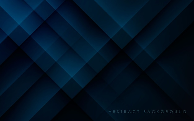 Современный синий абстрактный фон