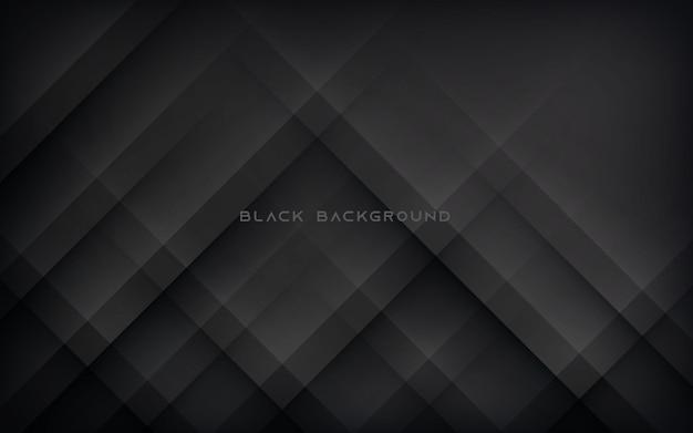 モダンな抽象的な斜めの黒の背景