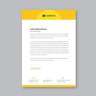 Желтый абстрактный векторный дизайн