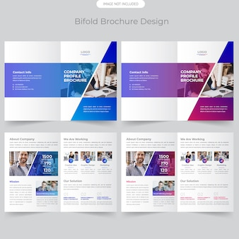 Брошюра дизайн бизнес бифолд