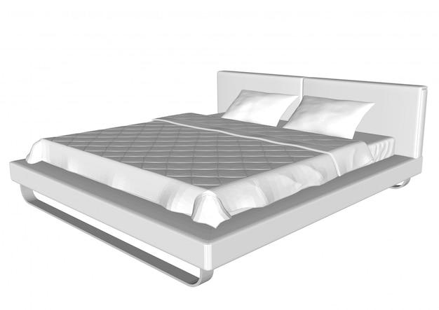 Кровать для интерьера дома