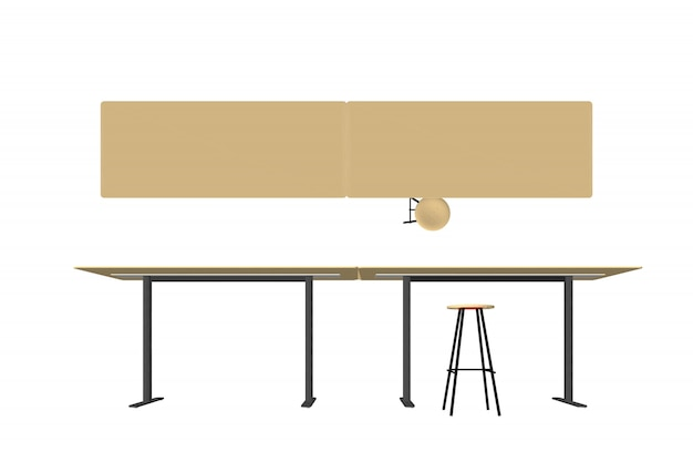 Деревянная мебель вектор