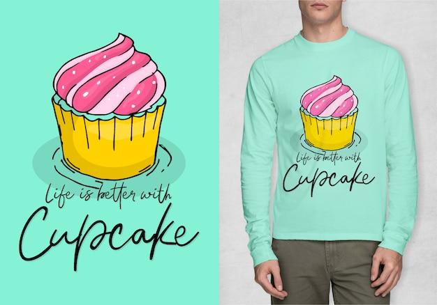 Вдохновение типография для футболки
