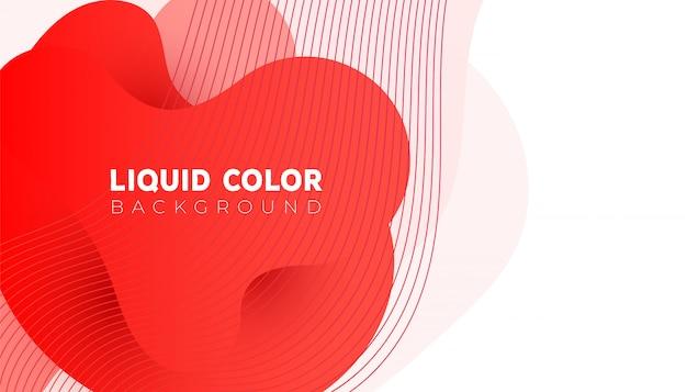 携帯電話用の色の抽象的な現代グラフィックバナーデザイン
