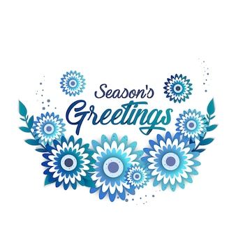 Шаблон приветствия сезона