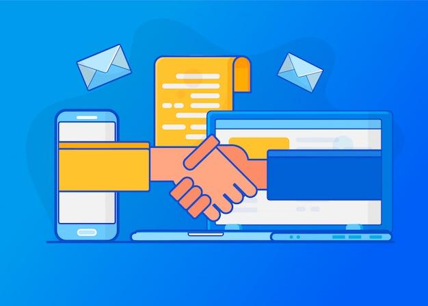 Онлайн-сделка