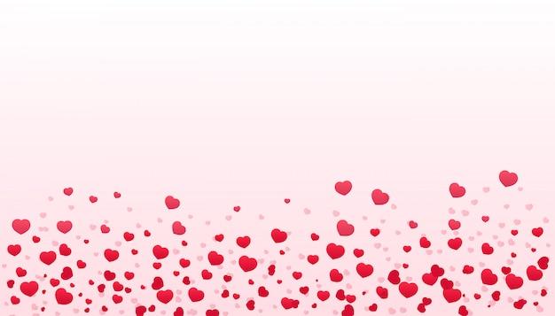 幸せなバレンタインデーのタイポグラフィポスター