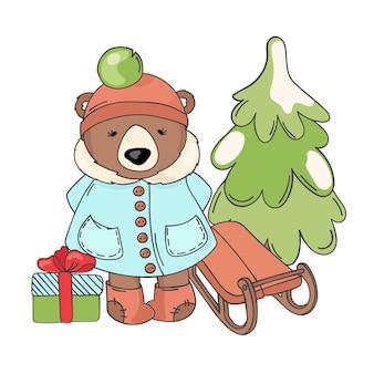 ベアスレイメリークリスマス漫画