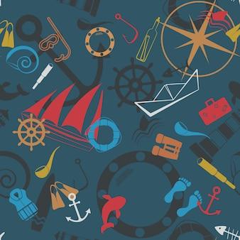 航海のシームレスパターン