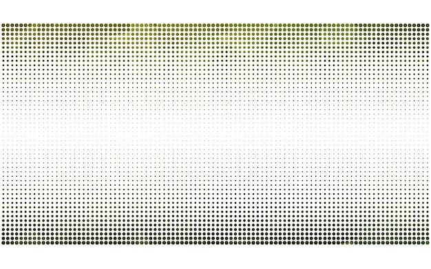 円と濃い緑のベクトル抽象的なパターン