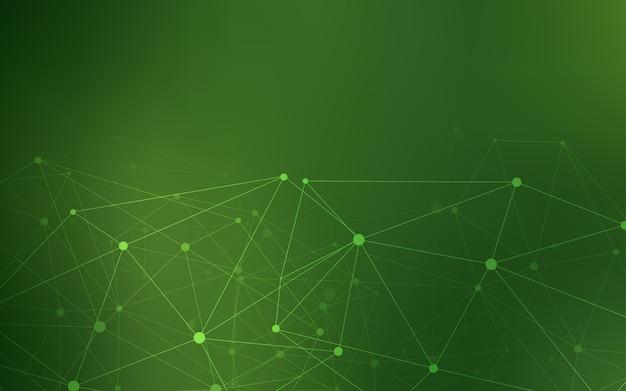 円形のダークグリーンベクトルテンプレート