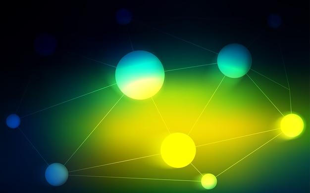 ディスクで緑色のベクトルテクスチャ