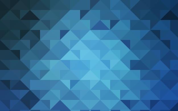 Светло-синий векторный полифонический фон
