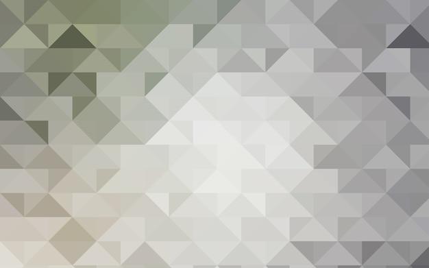 Светло-серый вектор абстрактный шаблон мозаики