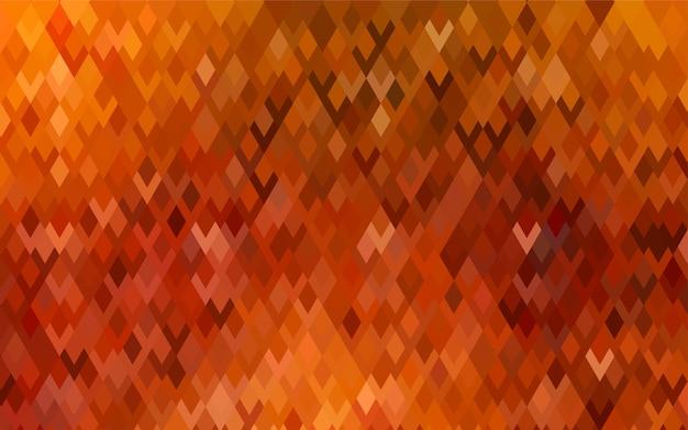 ダークオレンジベクトルモダンな幾何学的背景