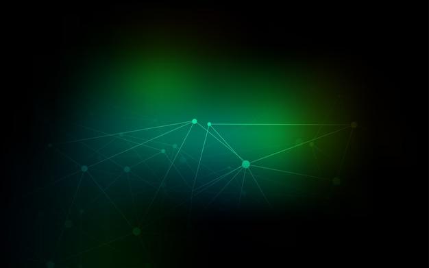 斑点のあるダークグリーンベクトルカバー