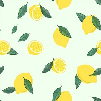 レモンフルーツパターン