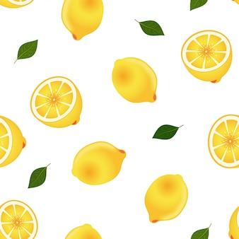 Лимонный фруктовый кухонный образец