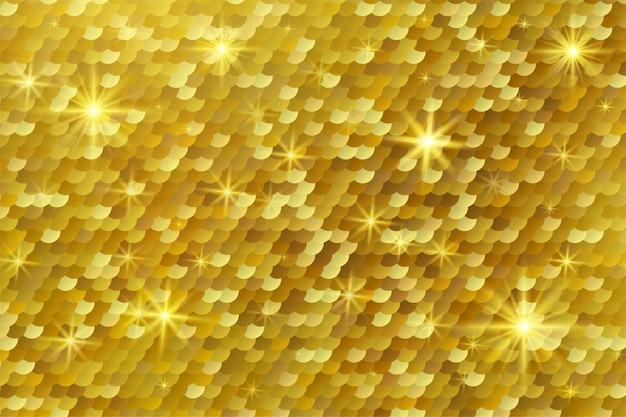 Абстрактный золотой блестящий светлый фон