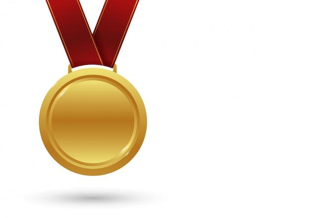 勝利メダル。