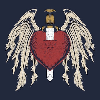 Крыло разбитого сердца