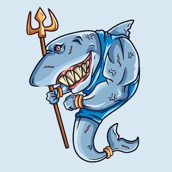 サメの戦士