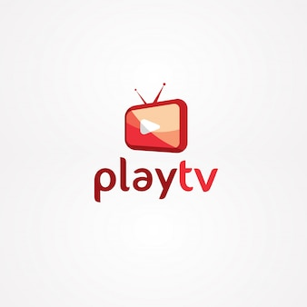 テレビのロゴを再生