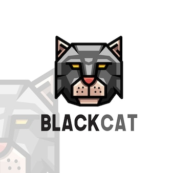 黒猫のロゴ