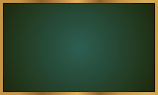 緑の黒板のイラスト