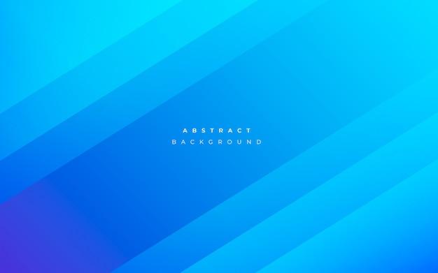 Современный абстрактный синий фон