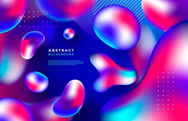 Абстрактный фон с жидкой формы