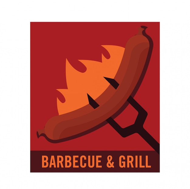 バーベキューのロゴ